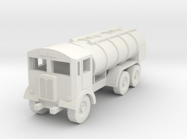 1/72 Scale AEC Matador Tanker in White Natural Versatile Plastic