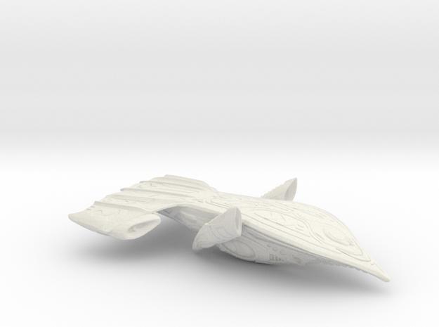 Upgrade_PredatorShip6_wsf in White Natural Versatile Plastic