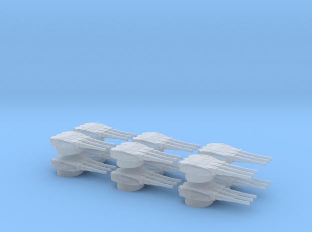 RC Devastator-dorsal-turrets set of 12 in Smoothest Fine Detail Plastic