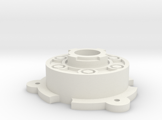 Tamiya Hilux 58028 Blazing Blazer 58029 Hub Wheel in White Natural Versatile Plastic