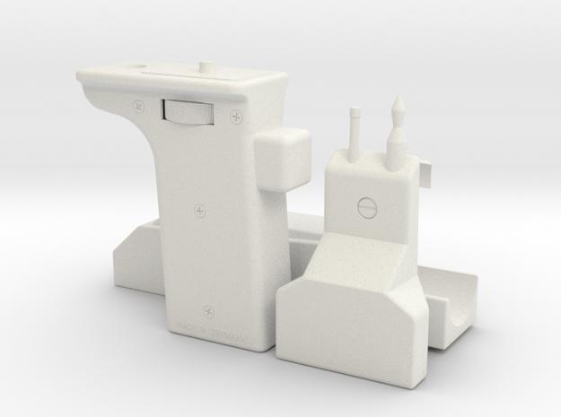 Pre-Pro #2 Sling Gun (No Shoulder and Telescope) in White Natural Versatile Plastic