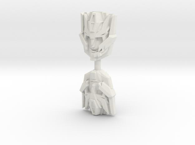 IDW Rodimus Face 2-Pack (Titans Return) in White Natural Versatile Plastic