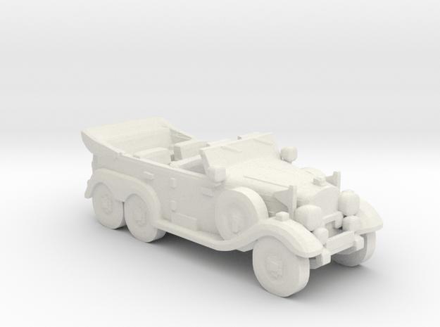 Mercedes G4 W31 1:55 in White Natural Versatile Plastic