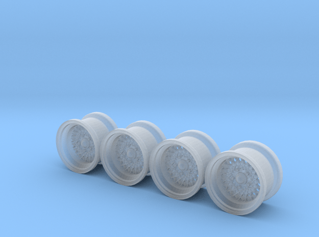 500SL Rally Wheels in Smoothest Fine Detail Plastic