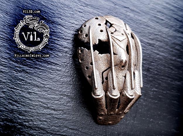 ORIGINAL Vs Pendant ⛧ VIL ⛧ in Polished Bronzed-Silver Steel