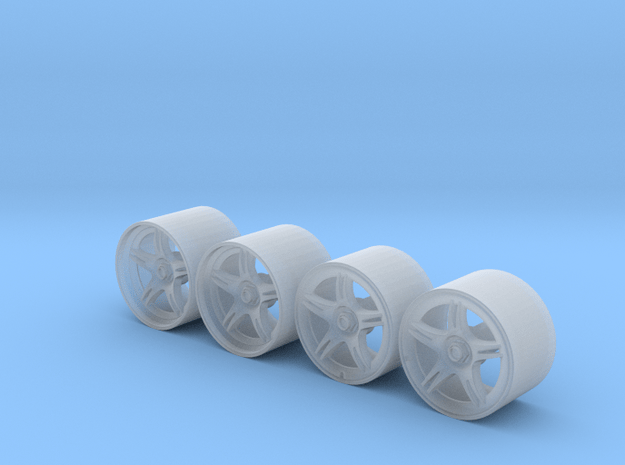 R390 Road Wheels in Smoothest Fine Detail Plastic