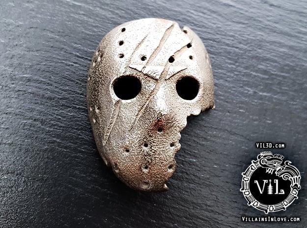 SAVINI Jason Pendant ⛧ VIL ⛧ in Polished Bronzed-Silver Steel: Small