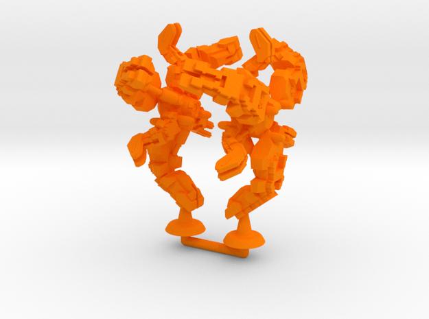 Menhit Class Battler - 1:20000 in Orange Processed Versatile Plastic