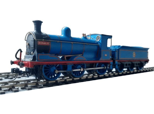 812 Class - Body - 00 Riveted in Smooth Fine Detail Plastic