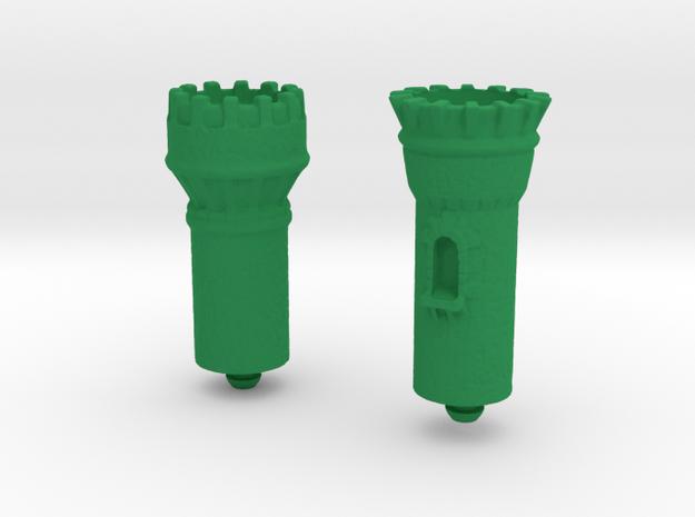 Cgmfists in Green Processed Versatile Plastic