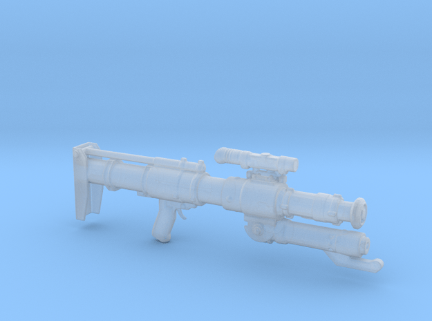 CJ-9 electrified bo-rifle in Smooth Fine Detail Plastic