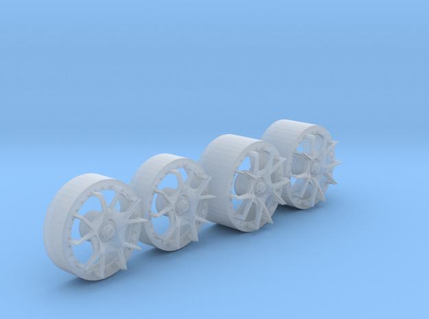 HyFo Diablo Wheels in Smoothest Fine Detail Plastic
