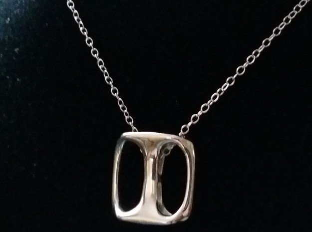 Multimodal [pendant] in Polished Silver