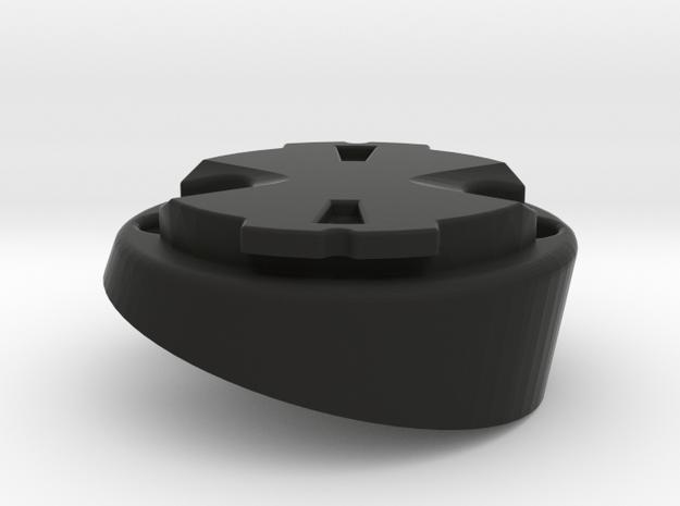 Garmin Varia Plate - 15deg in Black Natural Versatile Plastic