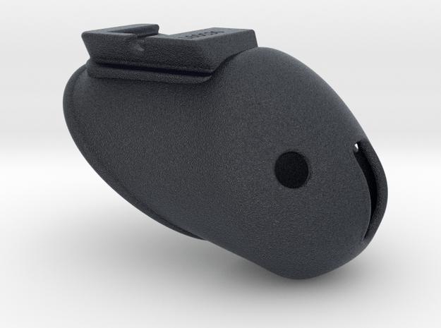 X3s Classic L= 60mm (2 3/8 inches) in Black PA12: Medium