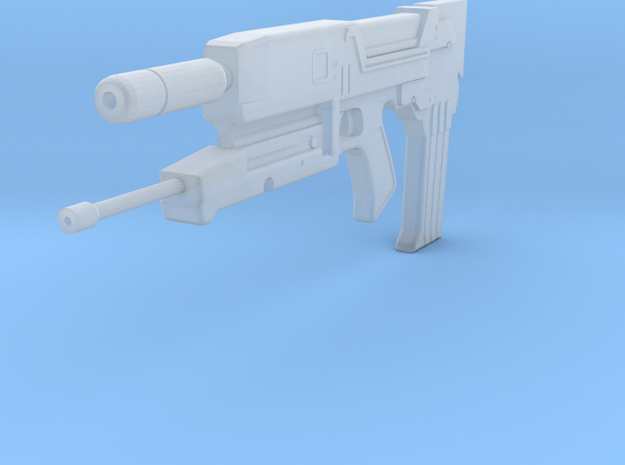 1:6 Scale Westinghouse M95A1 Phased Plasma Rifle in Smooth Fine Detail Plastic