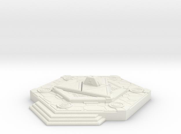 Triforce Base - Warhammer 40k in White Natural Versatile Plastic