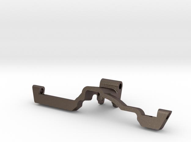 Metal Heavy Rear Truss w Riser Redcat HD Portal in Polished Bronzed-Silver Steel