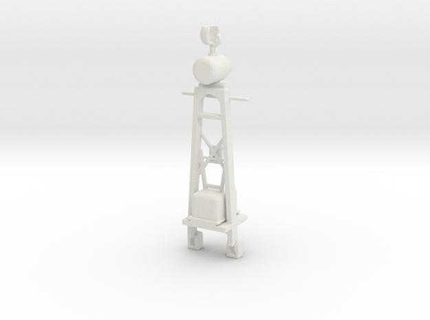 1/72 Scale PT Mast 1945 in White Natural Versatile Plastic