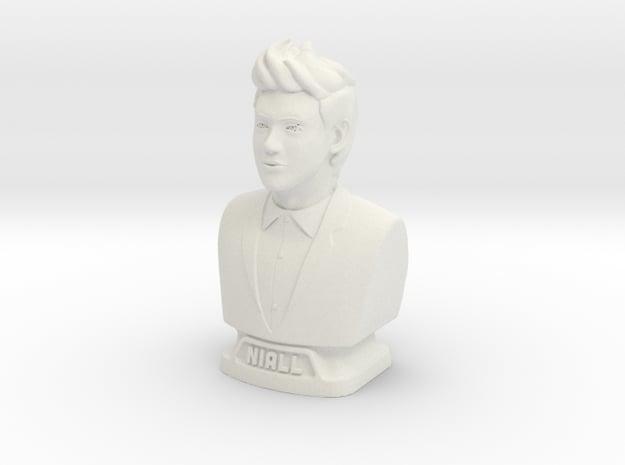 Niall Horan figurine in White Natural Versatile Plastic