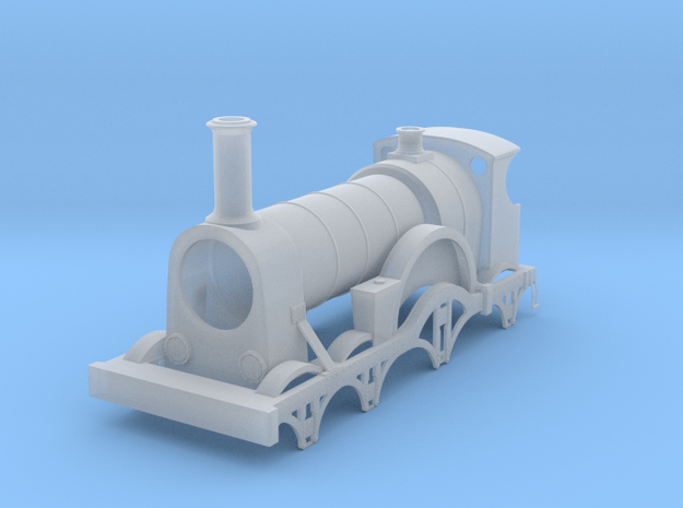 GWR Broad Gauge Rover Bulkeley in Smooth Fine Detail Plastic