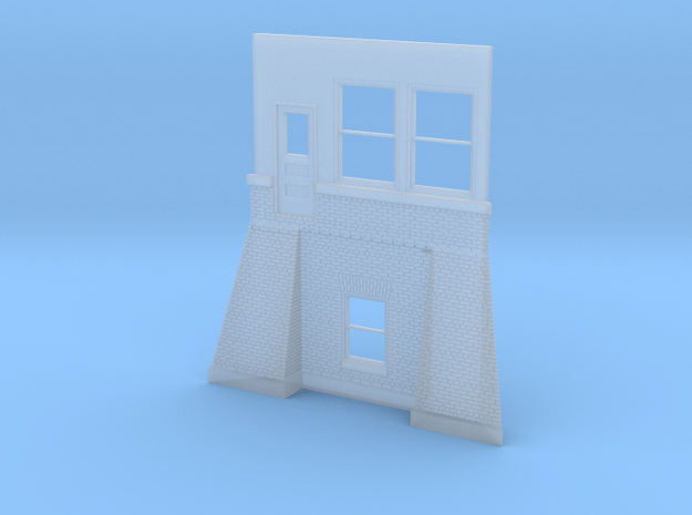 East Pana Tower Wall 3 of 7 in Smooth Fine Detail Plastic