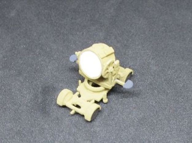 1/144 German AA search light Flakscheinwerfer in White Natural Versatile Plastic