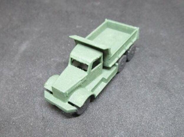 1/120 Diamond Dump Truck in White Natural Versatile Plastic