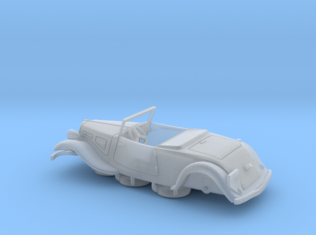 1:72 Citroen Traction Roadster in Smoothest Fine Detail Plastic