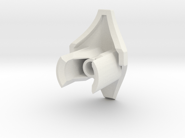 Two part Shin   knee Joint   CCBS in White Natural Versatile Plastic