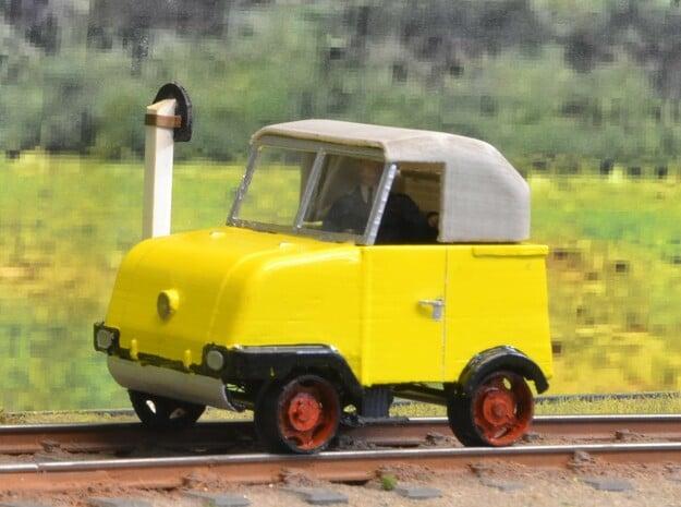 S1-193c Schienentrabi Verdeck in Gray PA12