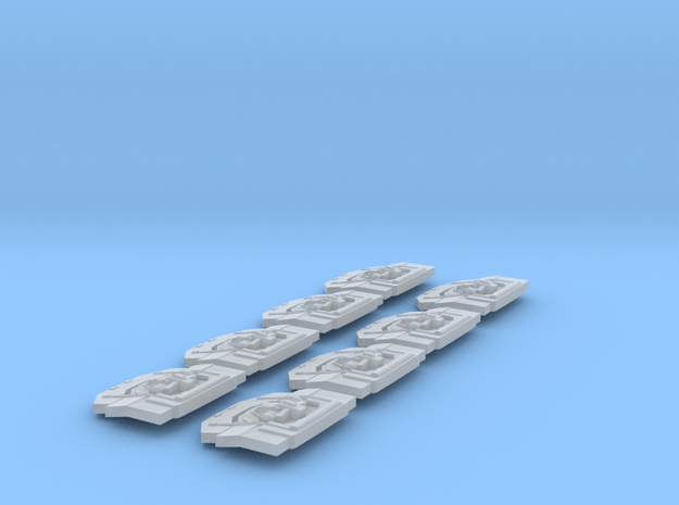 2256 avenger turrets in Smooth Fine Detail Plastic