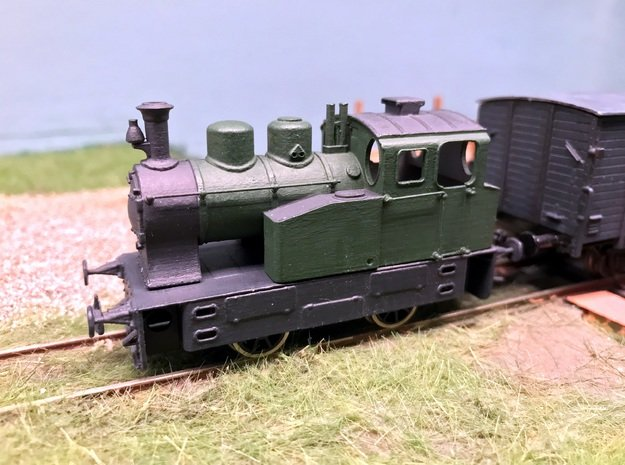 NCS-SS-NS-NTM Maffei loc in ontwikkeling 1:87 H0 v in Smooth Fine Detail Plastic: 1:87 - HO