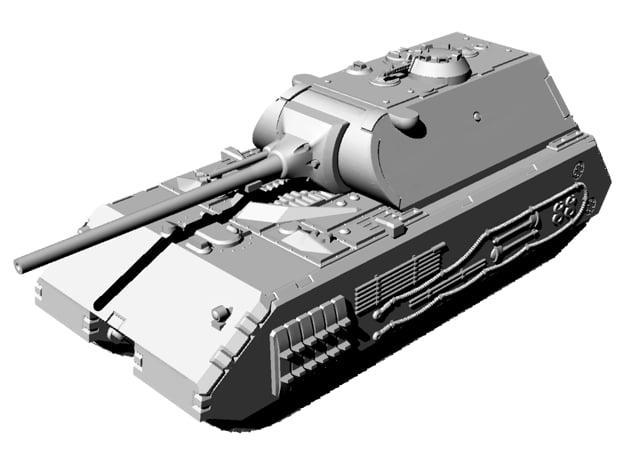 1/144 WWII German Maus Battle Ready Version  in Smooth Fine Detail Plastic