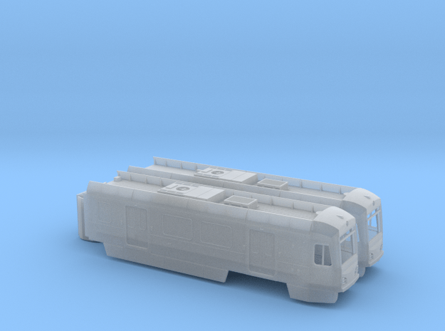 HO LA Metro P3010 for wrapped model in Smooth Fine Detail Plastic