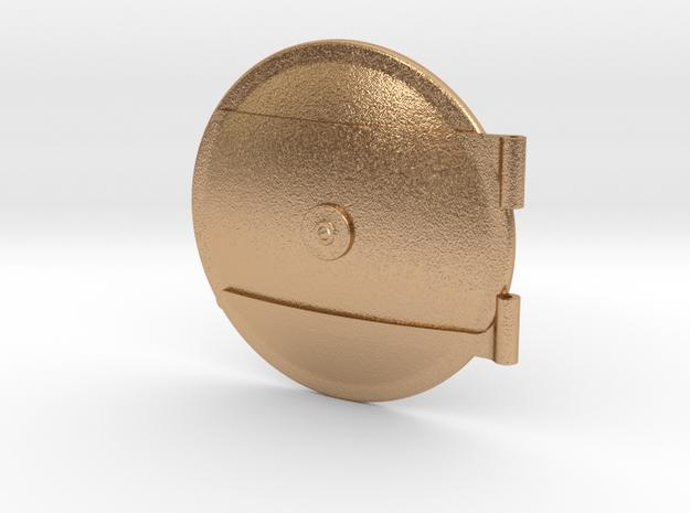 16B69002 Smokebox Door, Bagnall 6x9 ST (16mm) in Natural Bronze
