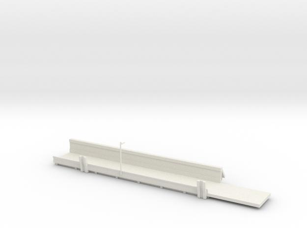 1/64 Sugar Beet Piler Truck Sidedump Bed in White Natural Versatile Plastic