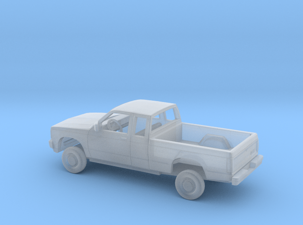 1/87 1982-93 GMC S-15 Ext Cab Regular Bed Kit in Smooth Fine Detail Plastic