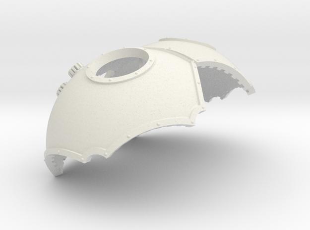 Scarabeus pattern titan carapace upgrade kit in White Natural Versatile Plastic