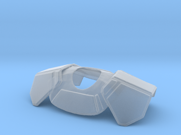 ARC trooper pauldron (realistic version) in Smooth Fine Detail Plastic
