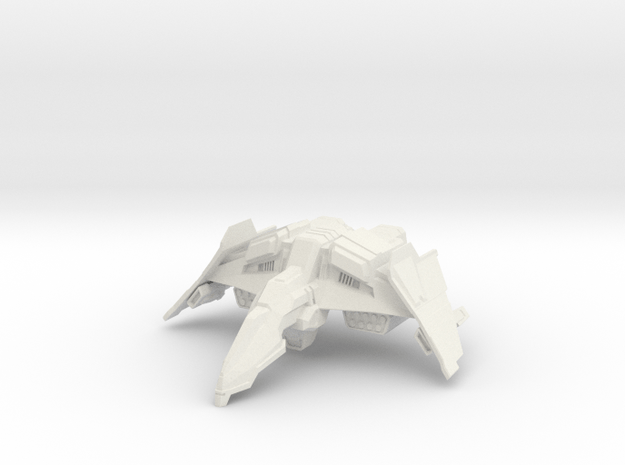HvyFighter in White Natural Versatile Plastic