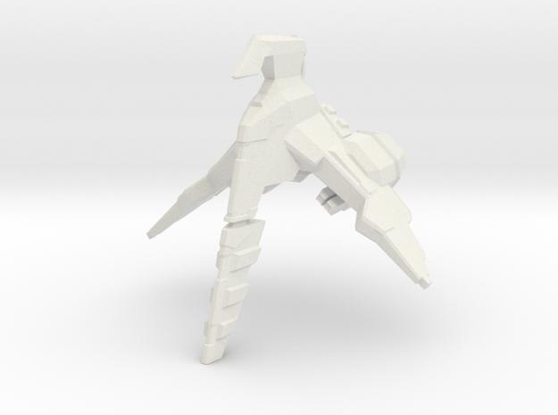 LtFighter in White Natural Versatile Plastic