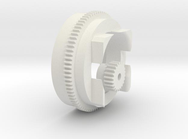 Kaminbasis Bruder Schneeschleuder in White Natural Versatile Plastic