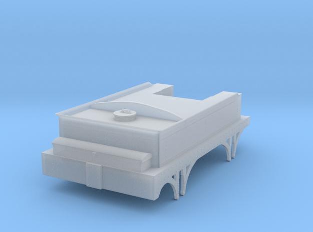 Broad Gauge 4 wheel tender 4mm scale in Smooth Fine Detail Plastic