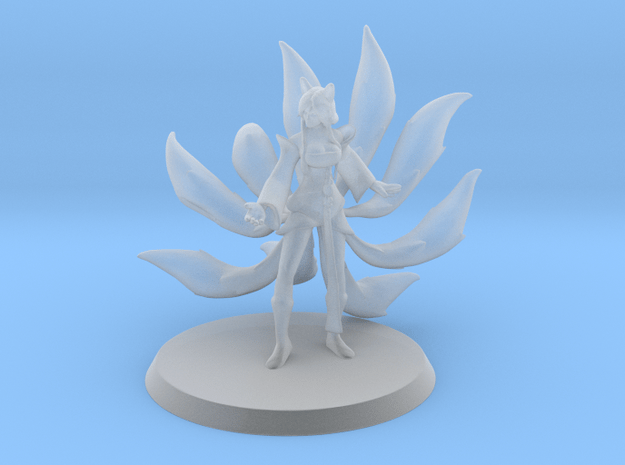 Ahri, the Nine Tailed Fox (35mm) in Smooth Fine Detail Plastic