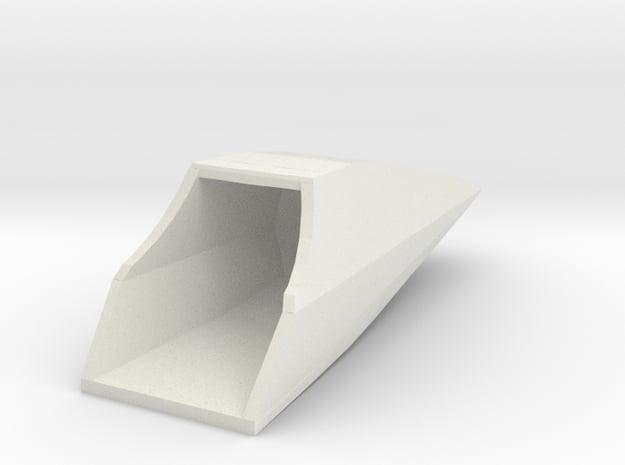 Star Wars TFA Poe's X-Wing Nose Cone in White Natural Versatile Plastic