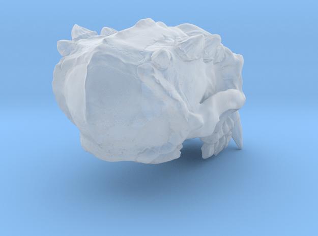 Troll skull in Smoothest Fine Detail Plastic