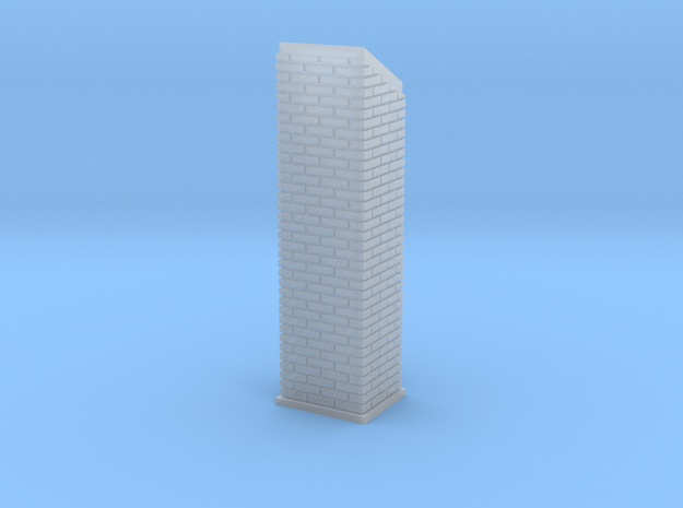 Pana Tower Chimney 6 of 7 in Smooth Fine Detail Plastic