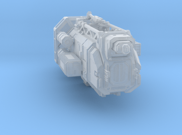 Transport1+Payload.stl in Smooth Fine Detail Plastic