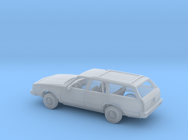 1/87 1979-81 Buick Century Station Wagon Kit in Smooth Fine Detail Plastic